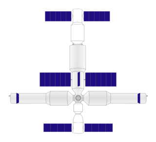 Core Cabin Module Component of Chinas space station