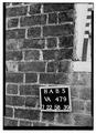 Christ Church (Episcopal), Columbus and Cameron Streets, Alexandria, Independent City, VA HABS VA,7-ALEX,2-39.tif