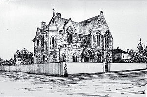 Cranmer Centre - Christchurch Girls' High School, ca 1885