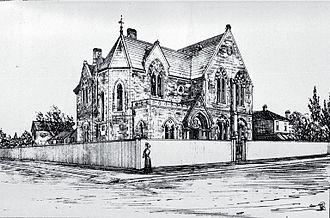 Cranmer Centre - Christchurch Girls' High School, ca 1885