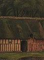 Christen Dalsgaard - En bindingsværkslænge ved Krabbesholm - KMS3930 - Statens Museum for Kunst.jpg