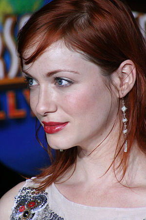 English: Christina Hendricks at the premiere o...