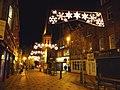 Christmas lights in Cross Street - geograph.org.uk - 1594181.jpg