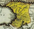 Christoph Weigel. Asia intra Mæotim pontvm et mare Caspivm. 1720-Colchis.png