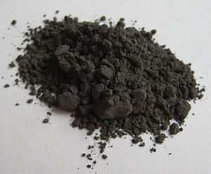 Chromium carbide - Image: Chromium carbide Cr 3C2