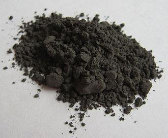 Chromium carbide - Image: Chromium carbide Cr 3C2