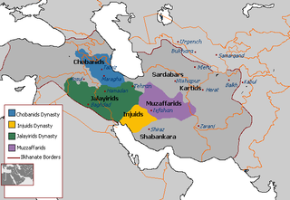 Jalairid Sultanate former country
