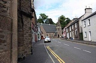 St Blanes Church, Dunblane church in Scotland, UK