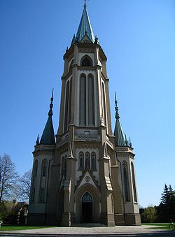 Holy Trinity Church in Wilamowice