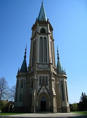 Wilamowice - Church