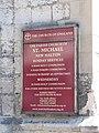 Church notice board, Saint Michael's - geograph.org.uk - 842092.jpg