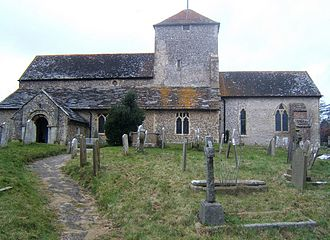 Grade I listed buildings in West Sussex - Image: Church of St James the Less, North Lancing
