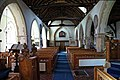 Church of St Mary the Virgin, Woodnesborough, Kent - nave from the chancel.jpg