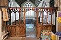 Church of St Nicholas, Ash-with-Westmarsh, Kent - chancel screen.jpg