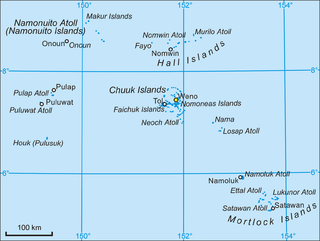 Chuuk State state in Federated States of Micronesia