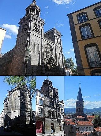 Riom - Buildings of Riom