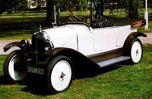 Citroën - 1921 Citroën B Torpedo