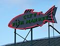 City Fish Market Sign, Seattle (9313711975).jpg