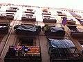 Ciutat Vella. Barcelona. Catalonian Flags. - panoramio (1).jpg