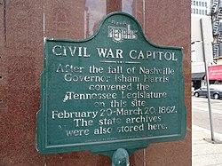 Civil war capitol   memphis sesquicentennial inc