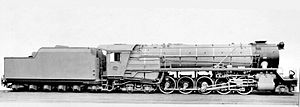 South African type FT tender - Type FT tender on Class 21, c. 1937