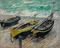Claude Monet - Three Fishing Boats - Google Art Project.jpg