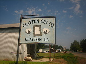 Clayton, Louisiana - Clayton Cotton Gin