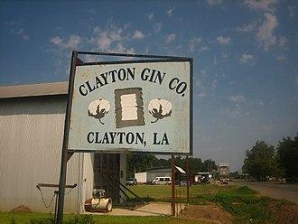 Clayton, Louisiana - Clayton Cotton Gin