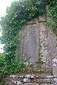 Clonkeenkerrill Friary Church South Wall Memorial Slab 2009 09 16.jpg
