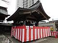 Closed chozuya at Utsunomiya-Futaarayama shrine 02.jpg