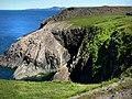 Coastal scenery near Porthgain - geograph.org.uk - 541195.jpg