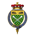 Coat of Arms of Hervey Rhodes, Baron Rhodes, KG, DFC, PC, DL.png