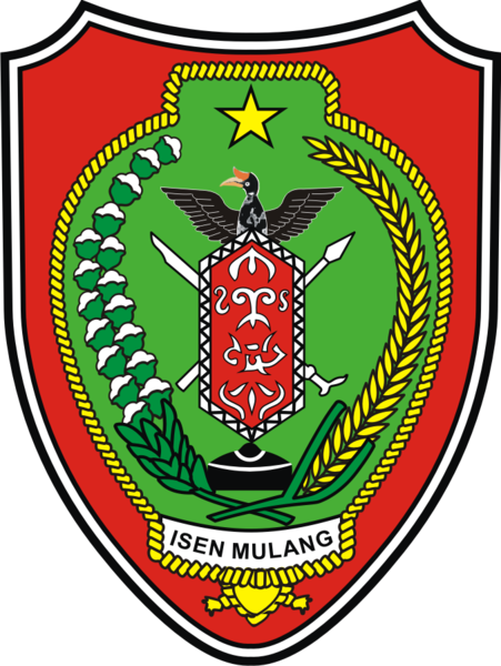 Berkas:Coat of arms of Central Kalimantan.png