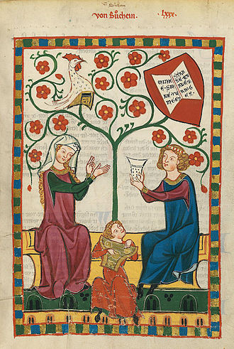 Heidelberg University - The University Library's collection includes the Codex Manesse, an important German song manuscript of the Middle Ages.