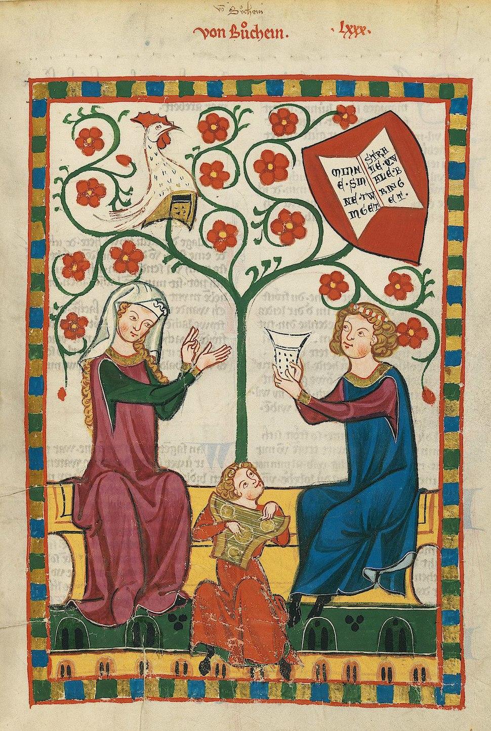 Codex Manesse 271r Von Buchheim