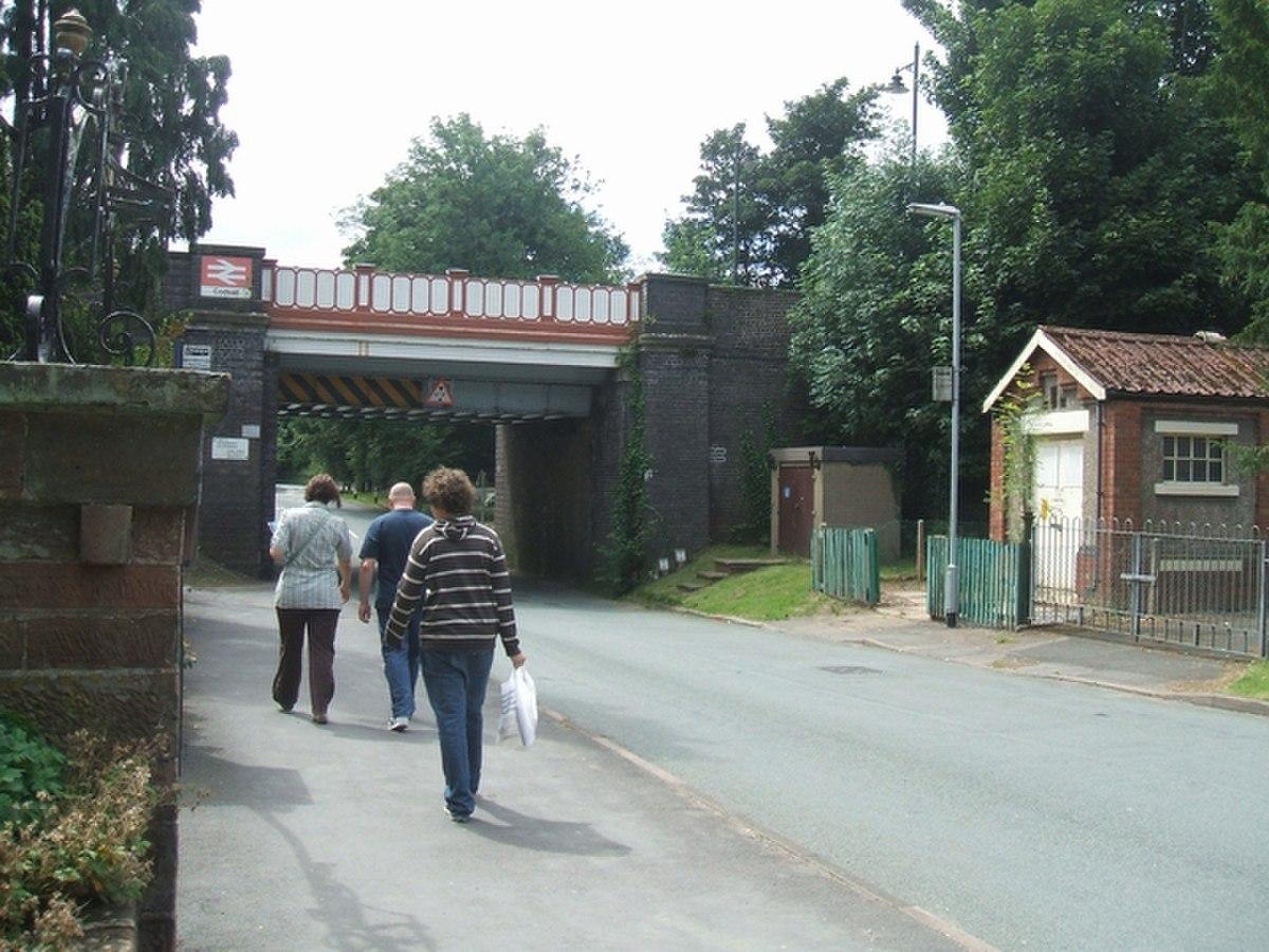 Codsall Station Railway Bridge - geograph.org.uk - 515243.jpg