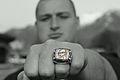 Cody Larsen Shows His Championship Ring.jpg
