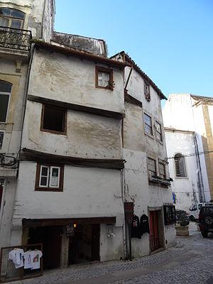 """Coimbra - Medieval houses """"sobrado"""" in Coimbra"""