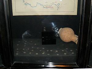Meydancık Castle - Coins from Meydancık Castle in Silifke Museum