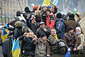 Colective portrait of activists as the cashes stop. Euromaidan, Kyiv, UKraine. Eventts of February 22, 2014..jpg