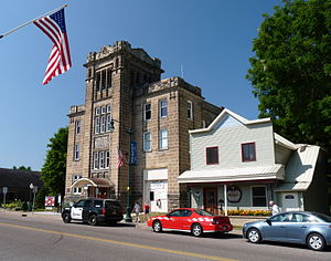 National Register of Historic Places listings in Dunn County, Wisconsin - Image: Colfax Municipal Building