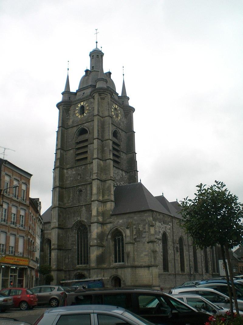 Image illustrative de l'article Collégiale Saint-Nicolas d'Avesnes-sur-Helpe