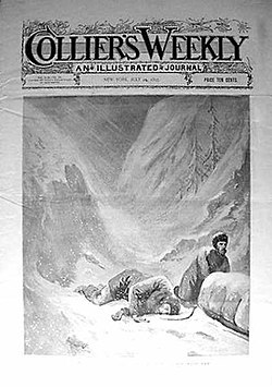 Coperta din septembrie 1897 a revistei Collier's Weekly