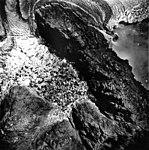 Columbia Glacier, Terentiev Lake, Calving Terminus and Distributary-Dammed Lake, September 1, 1978 (GLACIERS 1104).jpg
