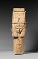 Column with Hathor-emblem capital and names of Nectanebo I on the shaft MET DP322024.jpg