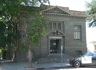 National Register of Historic Places listings in Colusa County, California - Image: Colusa, California police department from SE 1
