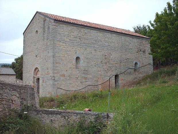 Monument historique à Villecroze