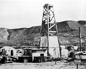 YPF - First oil well in Comodoro Rivadavia.