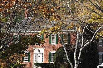 New Hampshire State Register of Historic Places - Image: Concord NH Governors Mansion