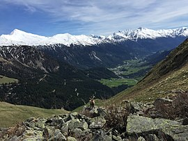 The commune lies at the limit of the Vanoise national park
